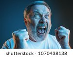 screaming  hate  rage. crying... | Shutterstock . vector #1070438138