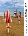 a beach of the adriatic sea in...   Shutterstock . vector #1070441996