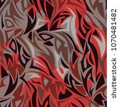 multilayer maori style seamless ... | Shutterstock .eps vector #1070481482