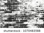 distressed overlay texture of... | Shutterstock .eps vector #1070483588