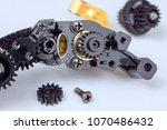 Small photo of Gear Repair Part of zoom mechanism autofocus camera lens