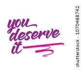 shopping phrases free font | Shutterstock .eps vector #1070488742
