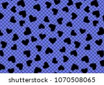 Vector Wide Card. Blue With...