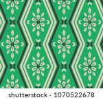 Seamless Pattern With Zigzag...