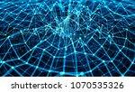 3d render abstract background.... | Shutterstock . vector #1070535326