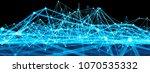 3d render abstract background.... | Shutterstock . vector #1070535332
