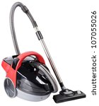 Vacuum Cleaner Isolated On The...