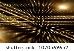 fractal explosion star with... | Shutterstock . vector #1070569652