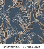 abstract elegance pattern with... | Shutterstock .eps vector #1070616035