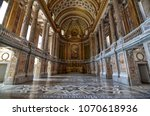 Small photo of Caserta, Campania region, Italy August 22 2016. The splendid Royal Palace of Caserta, its interiors made with precious materials and perfectly preserved.