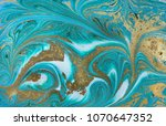 marble abstract acrylic... | Shutterstock . vector #1070647352