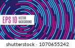abstract minimal vector... | Shutterstock .eps vector #1070655242