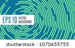abstract minimal vector... | Shutterstock .eps vector #1070655755