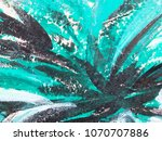 artists oil paints multicolored ... | Shutterstock . vector #1070707886