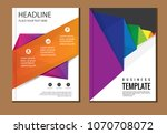 business abstract vector... | Shutterstock .eps vector #1070708072