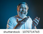 sports  fan human emotions and... | Shutterstock . vector #1070714765