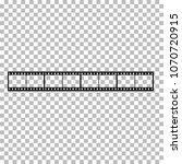 blank film frame stock... | Shutterstock .eps vector #1070720915
