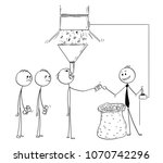 cartoon stick man drawing... | Shutterstock .eps vector #1070742296