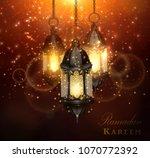 ramadan kareem greetings   Shutterstock .eps vector #1070772392