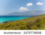 the mediterranean sea and the... | Shutterstock . vector #1070778008