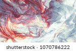 cold blue winter pattern with... | Shutterstock . vector #1070786222