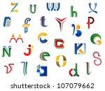 set of full alphabet letters...