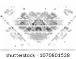 black and white abstract vector ... | Shutterstock .eps vector #1070801528