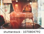 vibrant picture of chocolate... | Shutterstock . vector #1070804792