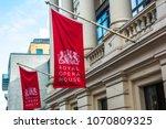 london  january  2018  royal...   Shutterstock . vector #1070809325
