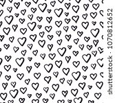 seamless pattern with doodle...   Shutterstock . vector #1070812652