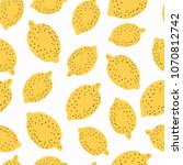 trendy seamless pattern with...   Shutterstock . vector #1070812742
