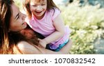 little girl with special needs... | Shutterstock . vector #1070832542