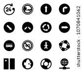 solid vector icon set   24...   Shutterstock .eps vector #1070841062