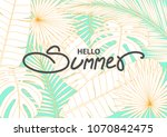 poster or background design in... | Shutterstock .eps vector #1070842475
