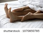 close up view of sexy romantic... | Shutterstock . vector #1070850785