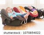 infants in toddler group lying... | Shutterstock . vector #1070854022