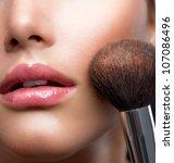makeup. make up closeup....   Shutterstock . vector #107086496