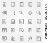 to do list icons set. vector...