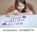 Child Making Homemade Greeting...