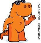 a cartoon illustration of a... | Shutterstock .eps vector #1070897192
