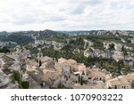 aerial view to medieval...   Shutterstock . vector #1070903222