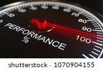 performance meter or indicator... | Shutterstock . vector #1070904155