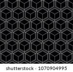 vector seamless geometric... | Shutterstock .eps vector #1070904995