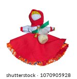 traditional russian rag doll on ... | Shutterstock . vector #1070905928
