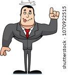 a cartoon businessperson... | Shutterstock .eps vector #1070922515