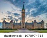 Parliament of Canada in Ottawa, North America