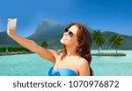 travel  tourism  summer... | Shutterstock . vector #1070976872