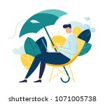 vector creative illustration of ... | Shutterstock .eps vector #1071005738