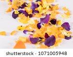 Edible Flowers  Purple  Orange...