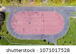 aerial photography of an... | Shutterstock . vector #1071017528